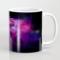 hologram Mugs featuring Jem and the Hologram by Claudia Digital Graphics
