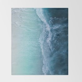 Turquoise Sea Throw Blanket