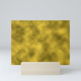 Gold Foil Smooth Metal Texture Festive / Christmas Mini Art Print