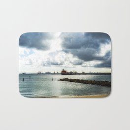 View across the Bay, Kurnell to Botany. Bath Mat