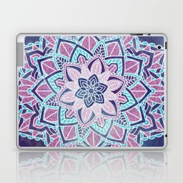Blueberry Sorbet Mandala Laptop & iPad Skin
