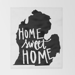 The Mitten - Home Sweet Home! Throw Blanket