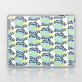 Leila - Abstract pattern, textile design  Laptop & iPad Skin