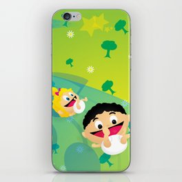 Music for Babies iPhone Skin