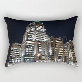 night moscow Rectangular Pillow