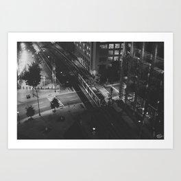 LightRail  Art Print