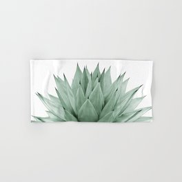 Agave Green Summer Vibes #1 #tropical #decor #art #society6 Hand & Bath Towel