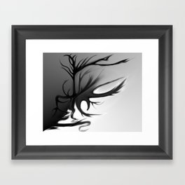 The Double Edged Tree I Framed Art Print