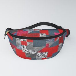 Modern Squares Fanny Pack