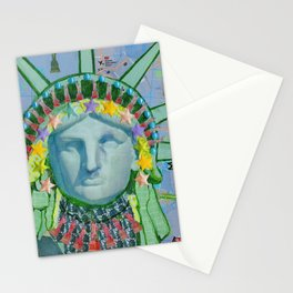 Statue of Liberty New York Stationery Cards