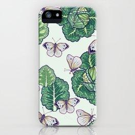 butterflies in the garden iPhone Case