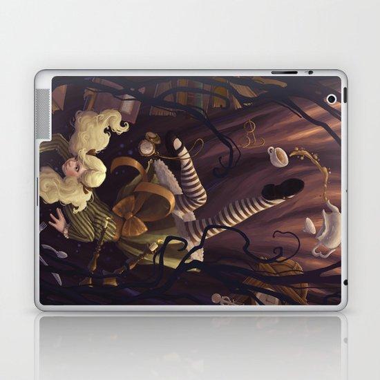Alice Down the Rabbit Hole Laptop & iPad Skin