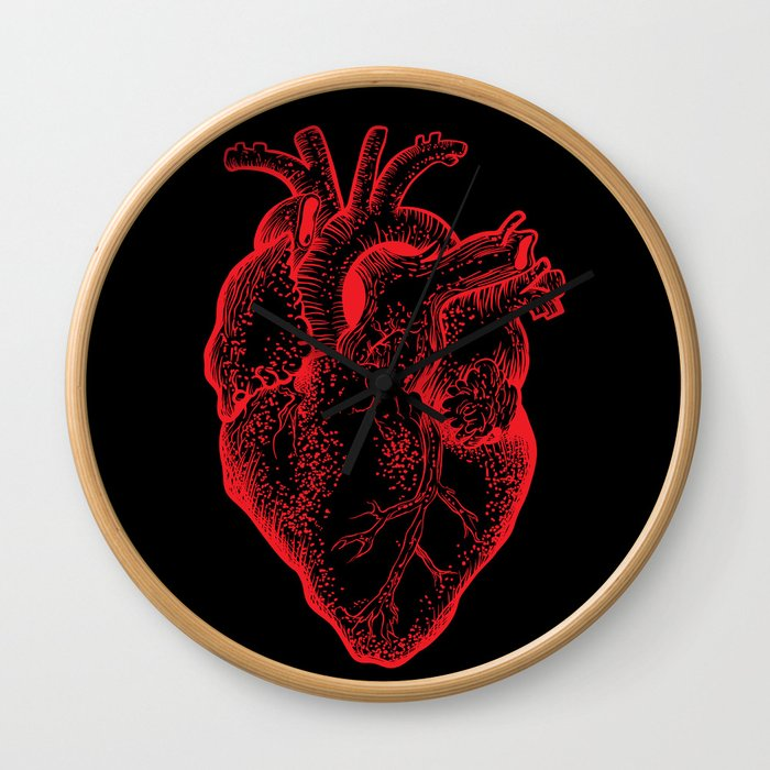 Heartless Wall Clock