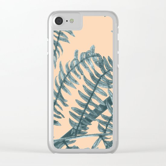 Silver Fern Clear iPhone Case