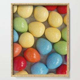 Easter Eggs I Serving Tray
