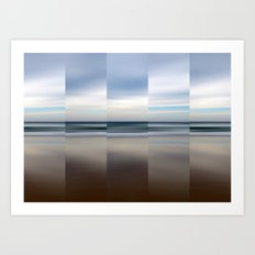 Changing With The Tide Art Print