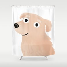 Golden Retriever - Cute Dog Series Shower Curtain