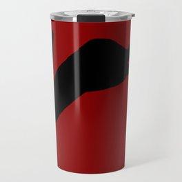 Black Rabbit Travel Mug