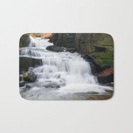 Lumsdale waterall Bath Mat