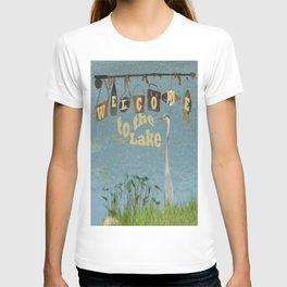 Welcome to the Lake Heron T-shirt