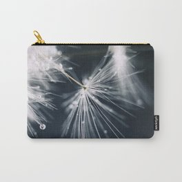 dandelion white Carry-All Pouch