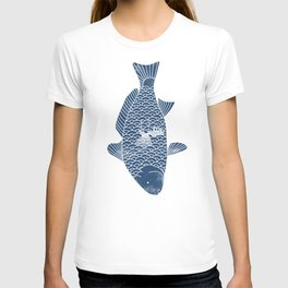 Fishing in a fish 2 T-shirt
