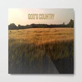 God's Country Metal Print