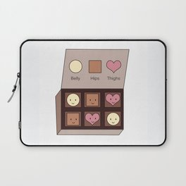 Belly, Hips, Thighs Laptop Sleeve