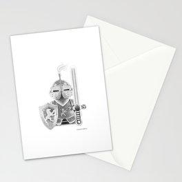 Medieval Warrior Stationery Cards