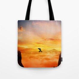 sunset balance Tote Bag