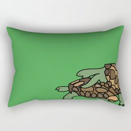 Turtle Galapagos mate love mating  Rectangular Pillow