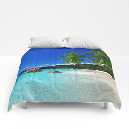 Turquoise Waters Comforters