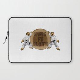 Kung Fu Sloth! Laptop Sleeve