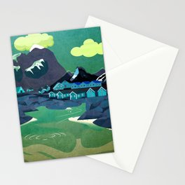 Norway 6 Stationery Cards