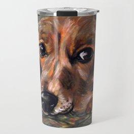 Dog Bagel Travel Mug