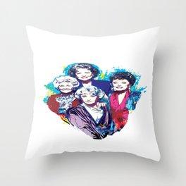 The Golden Girls Throw Pillow
