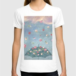 I Wished for a Rose Rain for You T-shirt