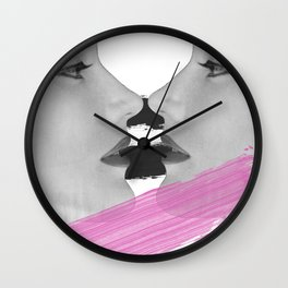 Face 2 face Wall Clock