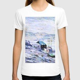 12,000pixel-500dpi - Ernest Lawson - Windy Day, Bronx River - Digital Remastered Edition T-shirt