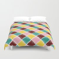 monroe Duvet Covers featuring Monroe by Dewi Gale
