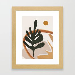 Abstract Plant Life I Framed Art Print