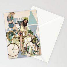 Bike Girls Stationery Cards