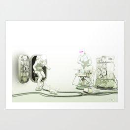 The Passenger: The Meet with Lars Art Print