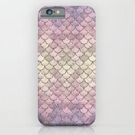 01 Mermaid Scales iPhone Case