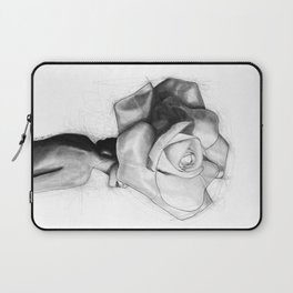 The woman with the head of a rose - Christy Turlington Laptop Sleeve