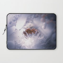 Bumblebee on a Flower Soft Dreamy Photo Laptop Sleeve
