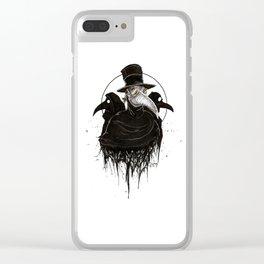 Plague Doctors Clear iPhone Case