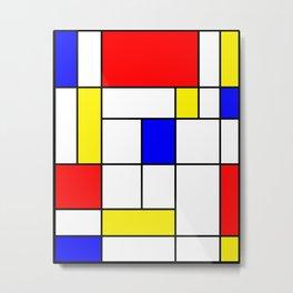 Mondrian #62 Metal Print