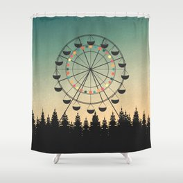 Take a Ride Shower Curtain