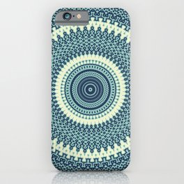Great Wave Off Kanagawa Inspired Kaleidoscope Pattern Japanese Art iPhone Case